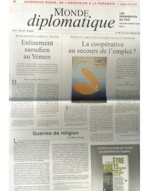 Le Monde Diplomatique 르몽드 디플로마티크 (프랑스판)