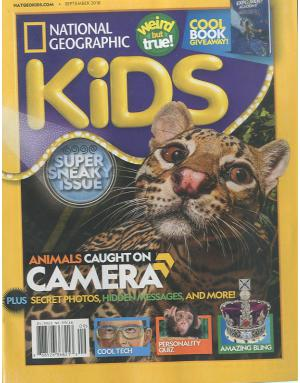 National Geographic Kids NG 키즈 (미국판)