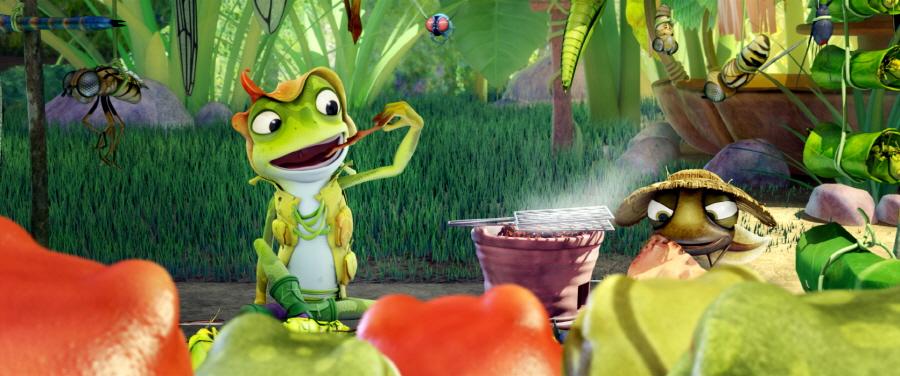 개구리 공주 '재키', 자유를 꿈꾸다