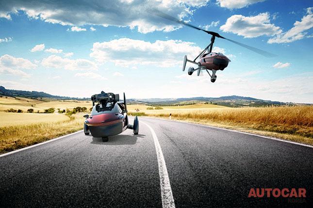 날개 달린 자동차