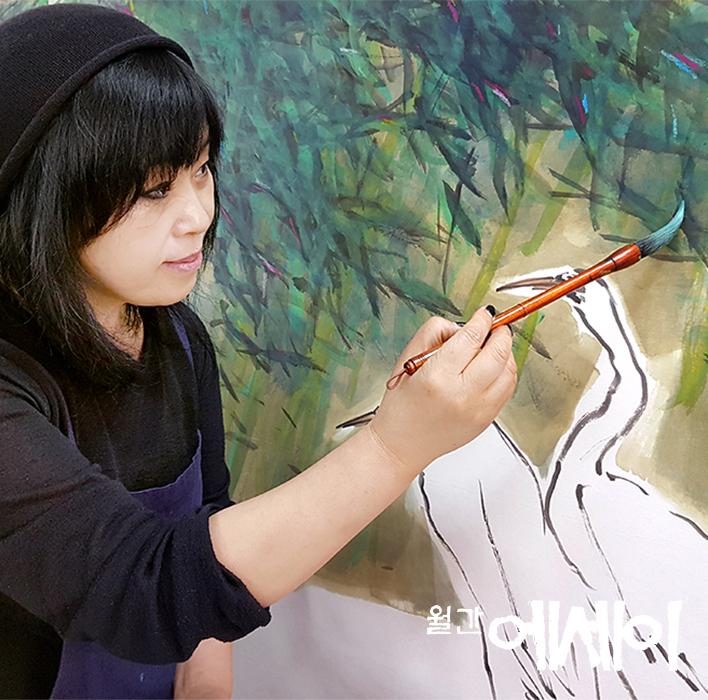 [그림이 있는 에세이] 쉼(休) / 김인숙, 화가