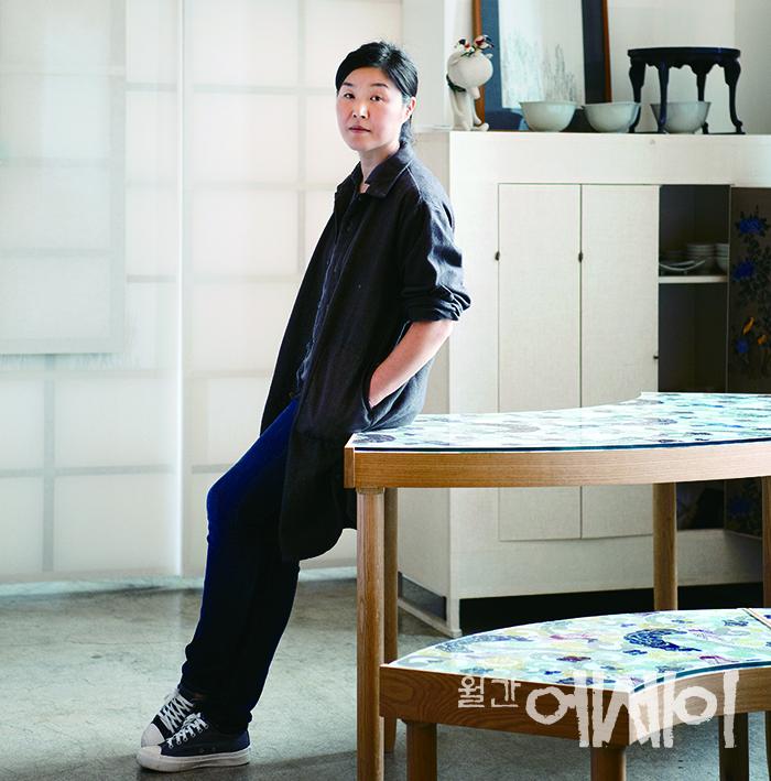 [Leaders] 상징적인 뜻그림, '무늬' / 장응복, 모노콜렉션 대표