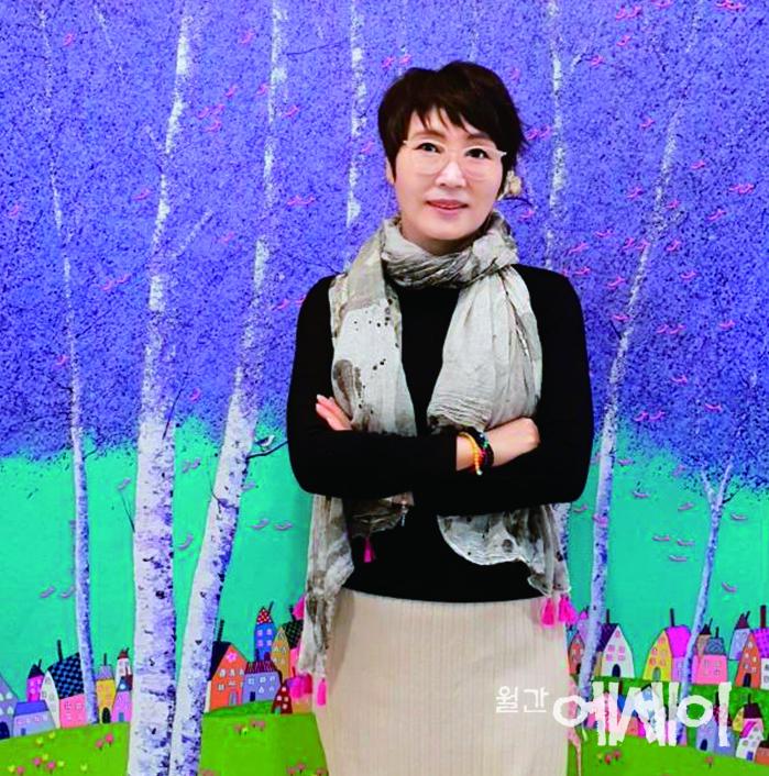 [그림이 있는 에세이] 사랑이 시작되던 날 / 김민정, 화가