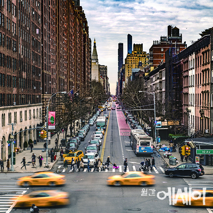 [사진, 그 상상의 공간]  도시의 색을 찾아서 / 오한솔, 사진작가