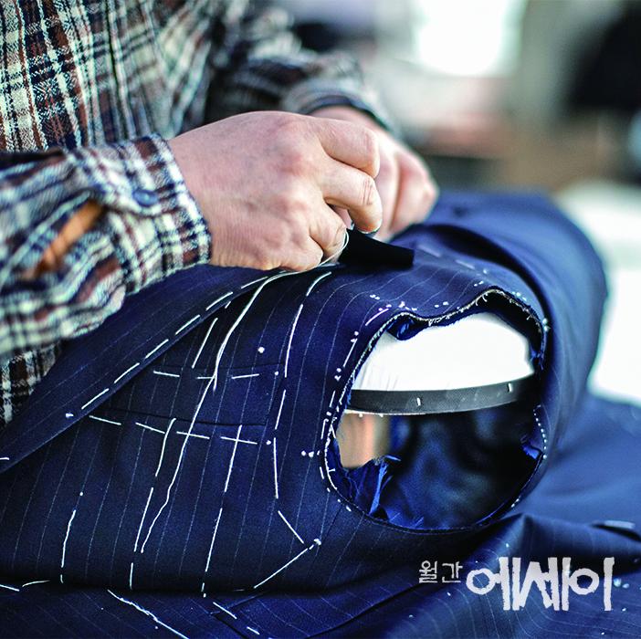 [재미난 手作] 주문 양복점의 선생들 / 박진훈, 수려비스포크 대표