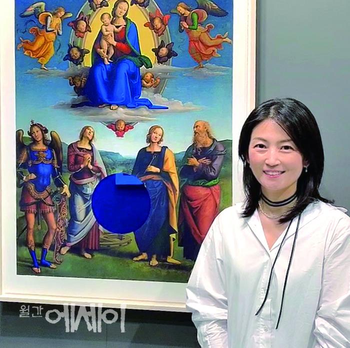 [그림이 있는 에세이] 한 조각의 빛으로 / 레지나 박, 화가