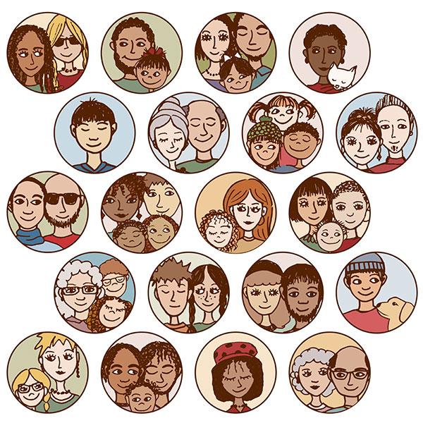 생활동반자법 | 다양한 가족들이 살고 있습니다