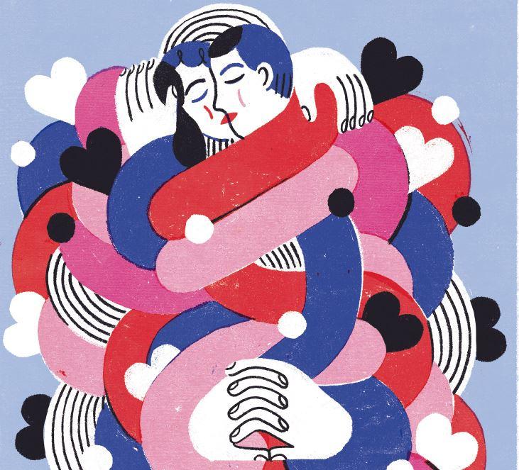 코비드 시대의 #연애 그리고 #스킨십
