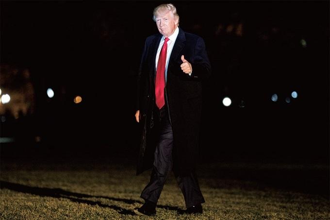 남성성의 상징인가 엘리트층에 대한 반항인가_트럼프의 긴 넥타이