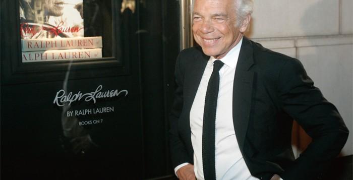 세계 패션계의 살아 있는 전설 '폴로' 브랜드의 창시자, 랄프 로렌