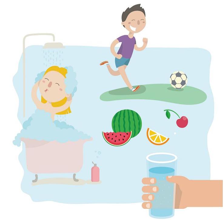 아이체력 지키는 한여름 생활법 7