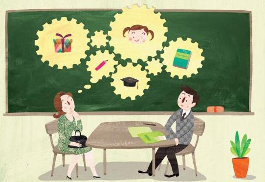 초등학교 학부모 상담 - 학부모 상담 중 생긴 일