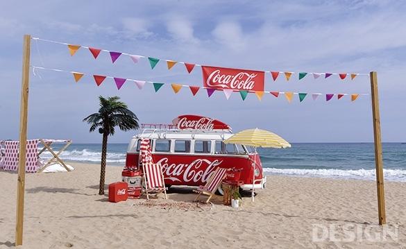 오감의 경험을 디자인하다 코카콜라 코-크 썸머 트립 캠페인