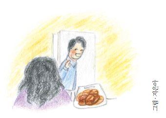 초코과자와 소보루빵
