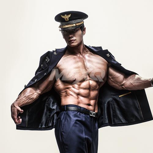 <THE POLICE OFFICER's BACK> 경찰 보디빌더 박성용 경사가 돌아왔다!
